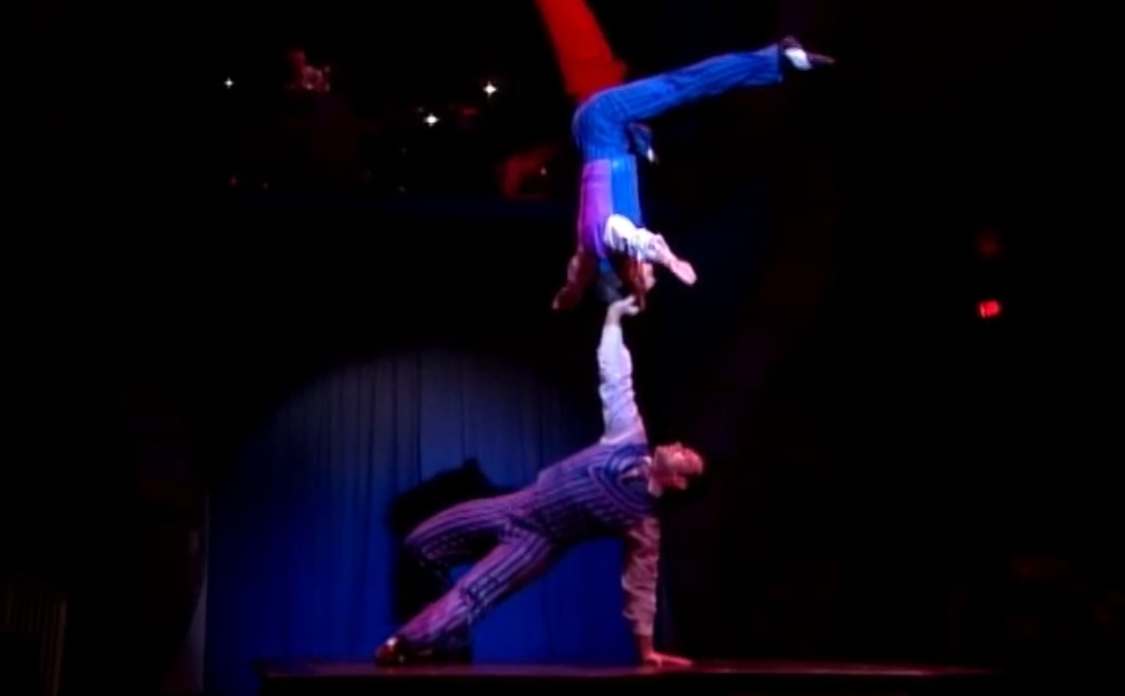 Godfather act at Big Apple Circus